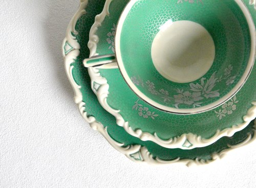 1930s antique tea cups and saucers Group G in Germany