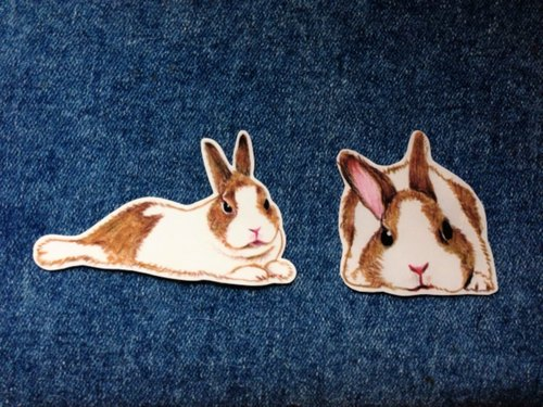 Li Xiangxiang :: :: Color Dodge Bunny stickers