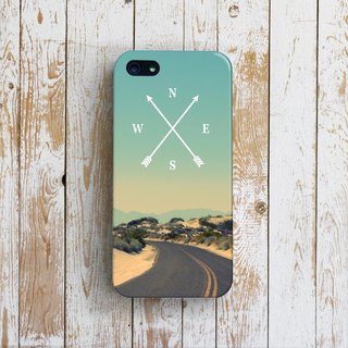OneLittleForest - Original Mobile Case - iPhone 4, iPhone 5, iPhone 5c- where the road