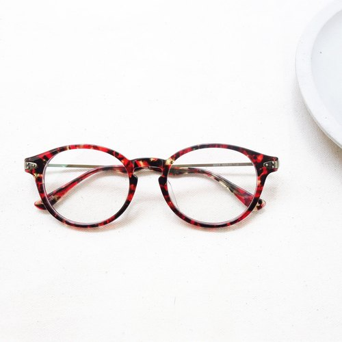 Head Head Firm | Vintage round frame red tortoiseshell