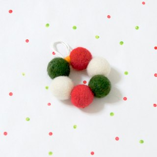 Christmas gift winter limited wool felt ornaments