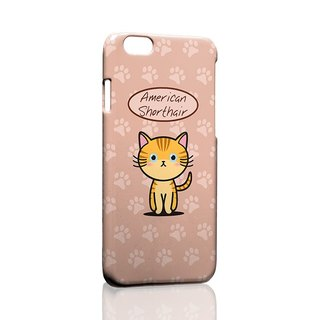 American Shorthair ordered Samsung S5 S6 S7 note4 note5 iPhone 5 5s 6 6s 6 plus 7 7 plus ASUS HTC m9 Sony LG g4 g5 v10 phone shell mobile phone sets phone shell phonecase