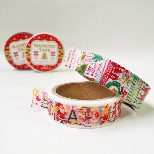 Japan amifa 2015 Xmas and paper tape 2 into the group [message - White (33557)]