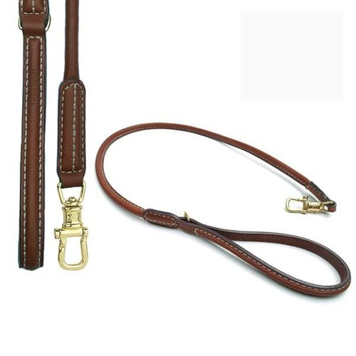 Wes [W & amp; S] Full Size M- brown leather leash