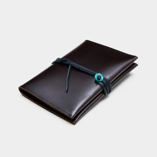 [Turkey's entry certificate] Chocolate color leather passport sets Turkey stone leather passport folder travel abroad must pass carved lettering when the gift around the national wind father father father section