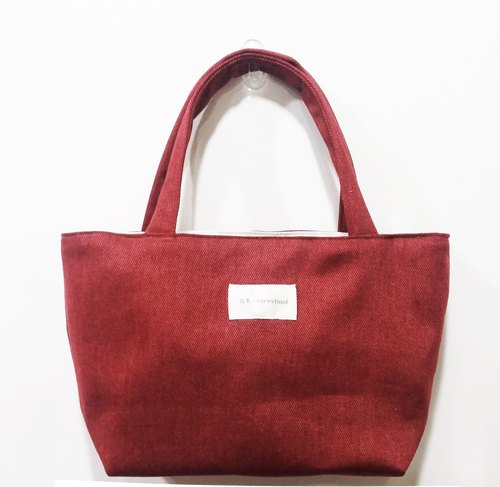 Light travel bag - red