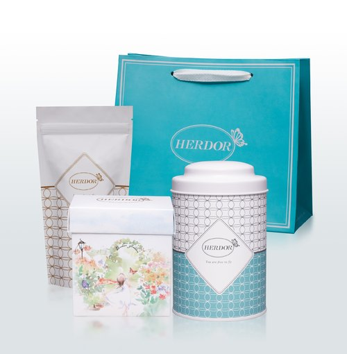 [Group] HERDOR herbal tea tea with you through good times gift tilapia