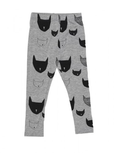 2014 Spring Beau Loves Marl Cat Gray legging