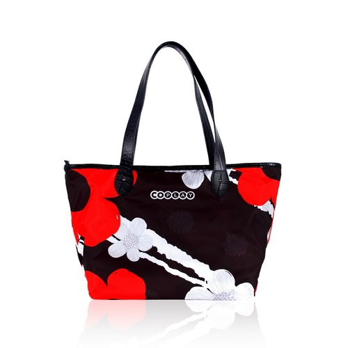 COPLAY design package - pop style shoulder bag flower tote III