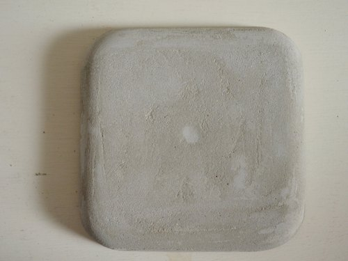 ARTtitude hand-made series - cement coaster (basic models) Handcrafted set for