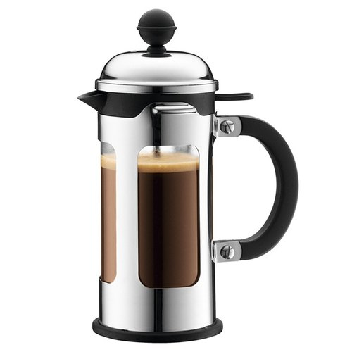 Denmark push Bodum CHAMBORD French Press 350ml (Silver)