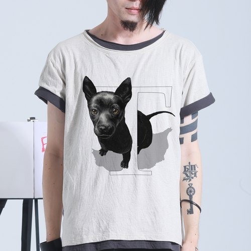 {T} aiwanDog Taiwan dog: hand-painted letters T
