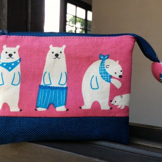 Polar bear five-layer bag - a practical package for mothers, Mother's Day gift
