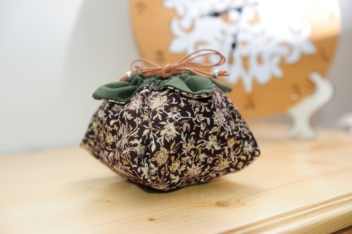 § BoBo Pig § theatrical props handmade persimmon tea bag tea pot / lid cup / tea available [leafy flower]
