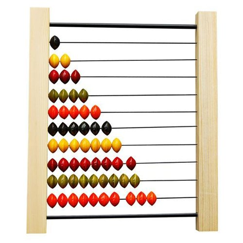 India Maya small abacus puzzle wooden toys