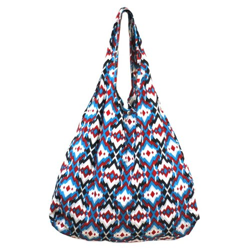 Waterproof Bag - Blue Red Indian