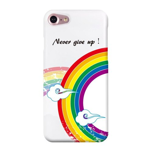 [Comrade Zhou rainbow, infinite love, never give up! ] White Phone Case