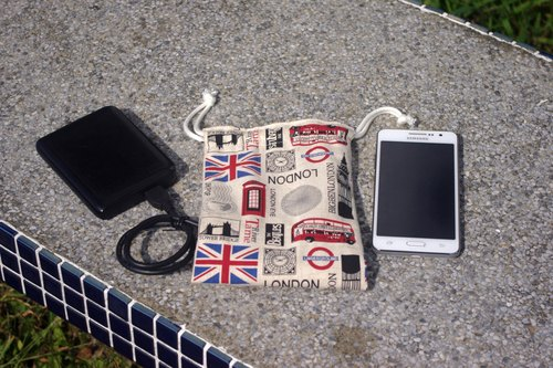 Phone + charger pouch 5