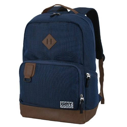 [011003-02] GMT after Norwegian fashion brand pig nose backpack blue section