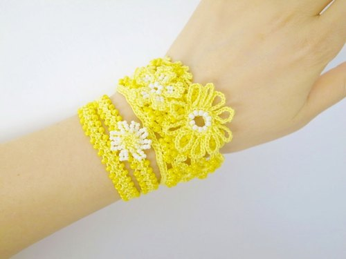 Lace Jewelry (Boho Chic 1-e) Bracelet
