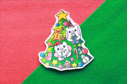 * Christmas tree sticker Shamao