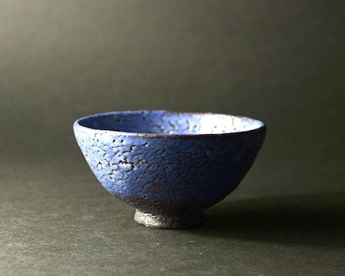 Kurekure Ao Shino rice bowl (small)