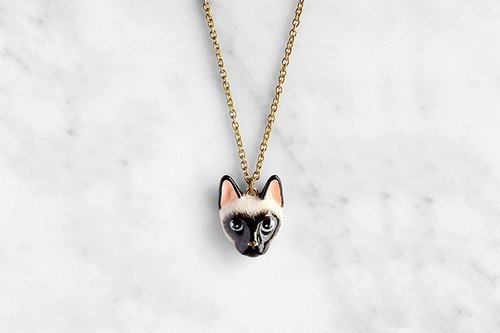 Dalah Cat Necklace, Siamese cat