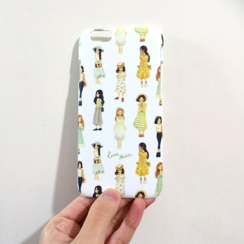 Phone Case / dress girl / Iphone6