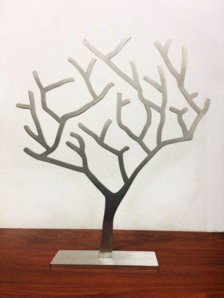 Stainless steel large jewelry tree, unique style of fantasy atmosphere, thick 5mm strong texture, can be directly home furnishings