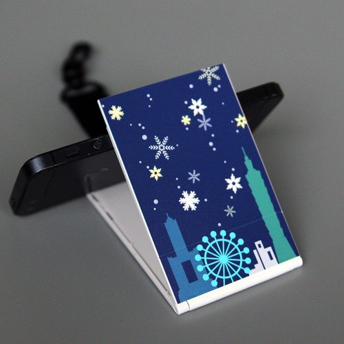 2 in 1 travel card sets of mobile phone base - Winter Edition [Gift Edition]