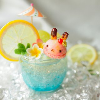 Sweet Dream ☆ Summer Fun Fruit Bubble ice cream - Bunny children (strawberry flavor)