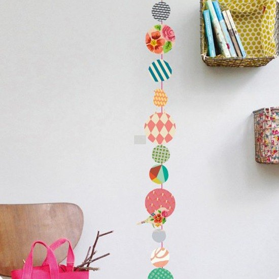 Sweet Deco - colorful beaded <. MIMI'lou France playful wall stickers / stickers >