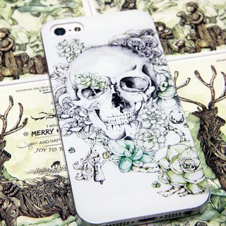 Phone Case - skull and angel