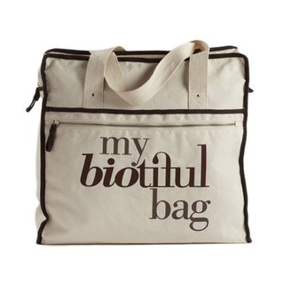 法國my biotiful bag有機棉Weekend Bag-Brown