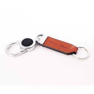 MartinDuke LED Leather Key Chain