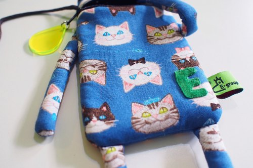 E * group A frog mouth package iphone6 ​​+. I7 + single Ninga meow head cell phone pocket
