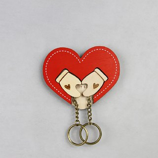 Key House Embrace Love<Customizable Storage Decoration Gift Valentine >