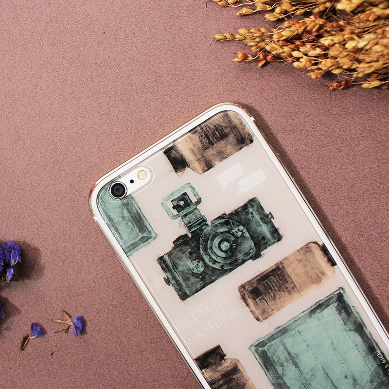 ▷ Umade ◀ old-fashioned camera [iPhone mobile phone shell / accessories (i6, i6s, i6plus, i6splus, i6 +) - interchangeable backplate -Umade Sparkling TPU double-slim metal frame glossy hard shell - Gifts - boys and girls - artists ] Liu Yi its 61Chi