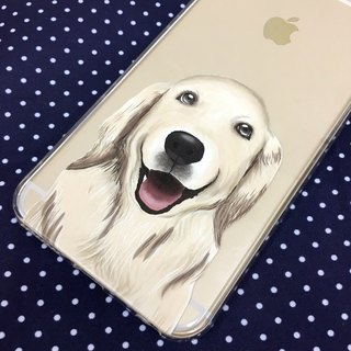 My Pets Dog Golden Retriever Print Soft / Hard Case for iPhone X,  iPhone 8,  iPhone 8 Plus,  iPhone 7 case, iPhone 7 Plus case, iPhone 6/6S, iPhone 6/6S Plus, Samsung Galaxy Note 7 case, Note 5 case, S7 Edge case, S7 case
