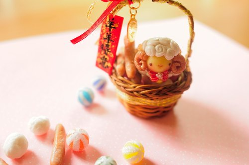 Sweet Dream ☆ ☆ Yangyangdeyi New Year candy basket / pure decoration