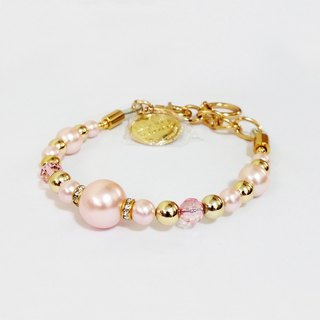 Ella Wang Design jewelry pearl necklace - pink pet collar fashion Hand Size: XS ~ M +