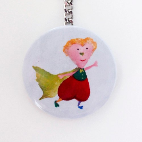 The Little Prince-Stainless Steel mirror key ring