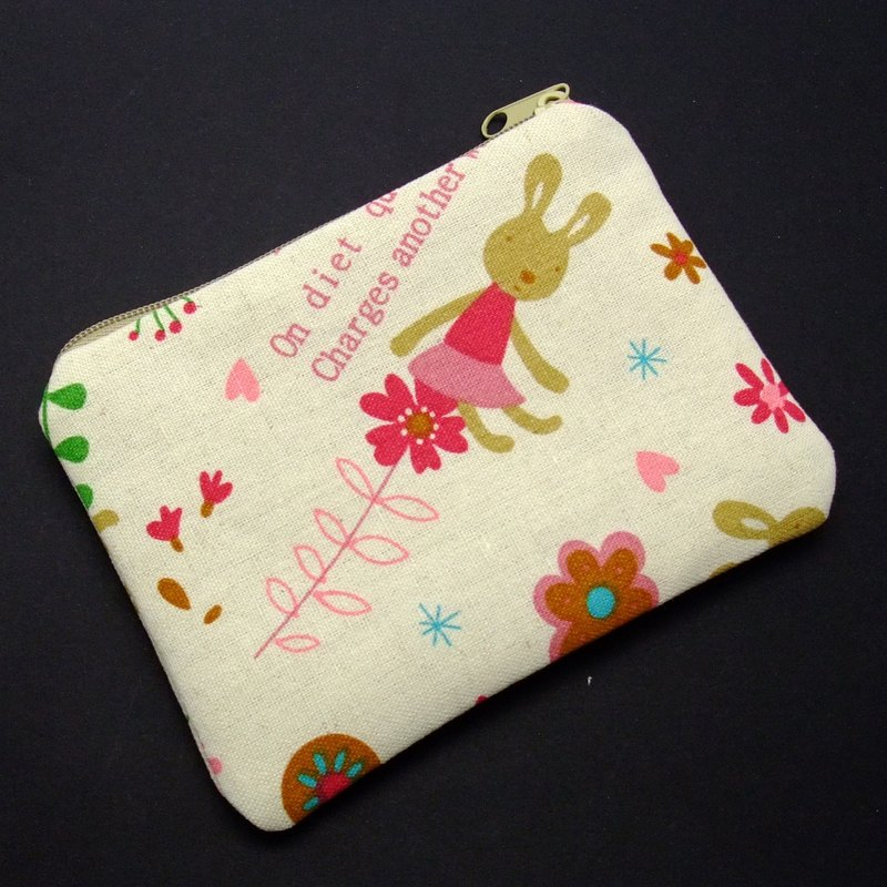 Zipper pouch / coin purse (padded) (ZS-90)