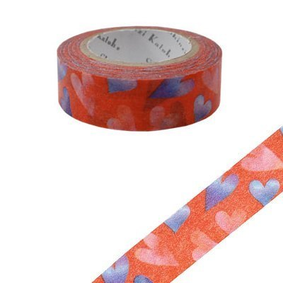 Shinzi Katoh Kato Shinji Illustration Masking Tape (Love 2 KS-MT-10010)