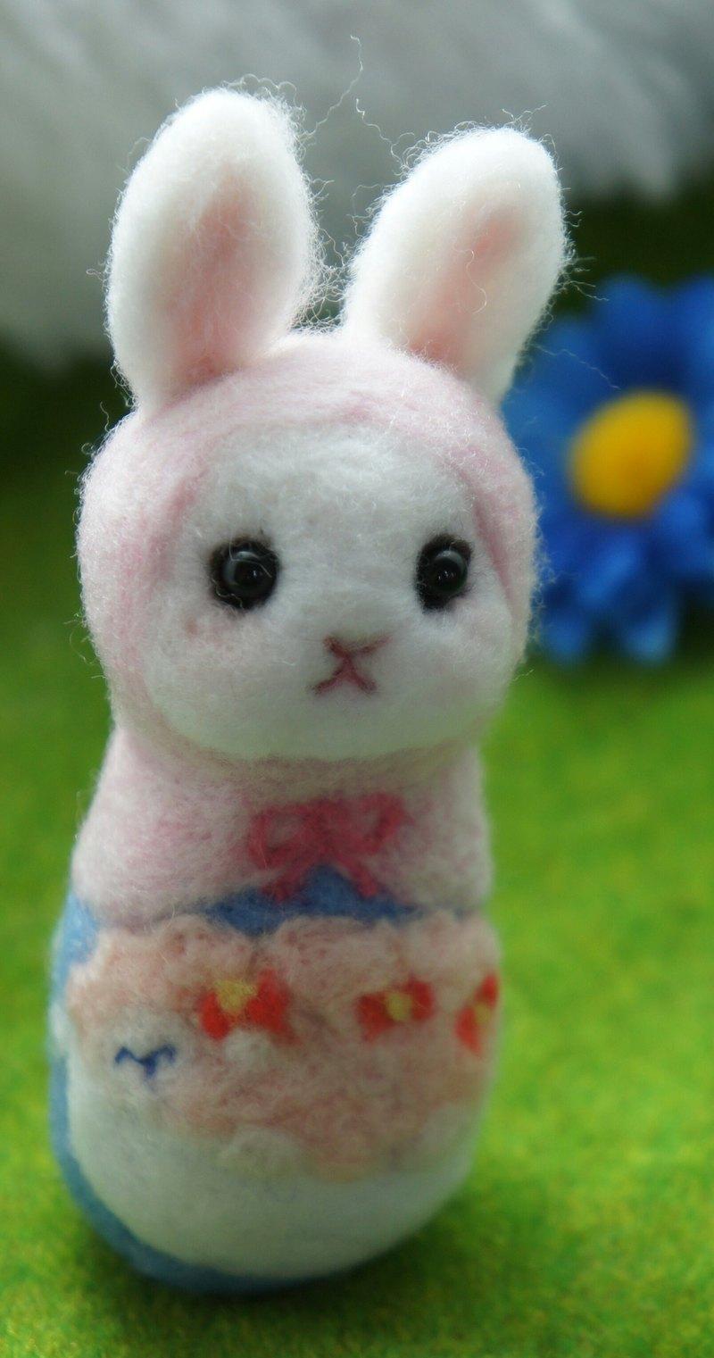 羊毛氈雲上小羊俄羅斯娃娃 訂製