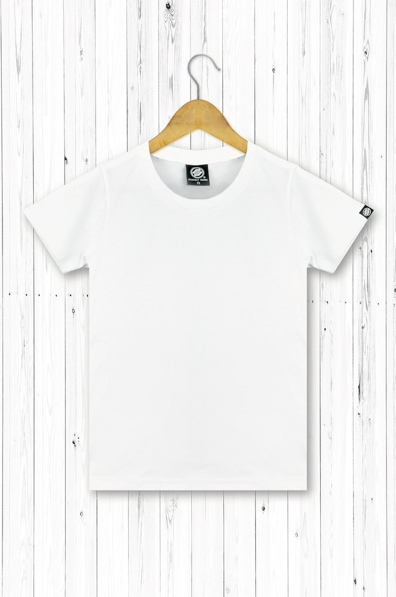 STATELYWORK blank plain T-shirt - Female T-shirt - white