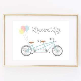 Dream Big Customized Hanging Poster