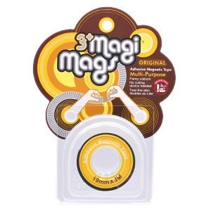3+ MagiMags Magnetic Tape    19mm x 3M Neon.Yellow