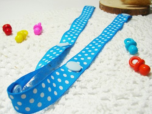 Cheerful. Strollers Toys anti-out rope lanyard, anti-out chain Sophie good partner (little blue)