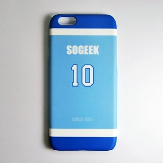 SO GEEK phone shell design brand THE JERSEY GEEK jersey back number Customized paragraph 041